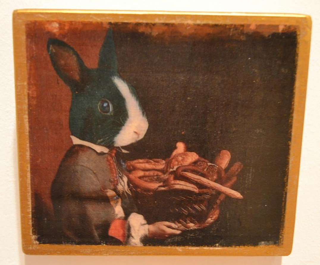 Rabbit Boy With Bread