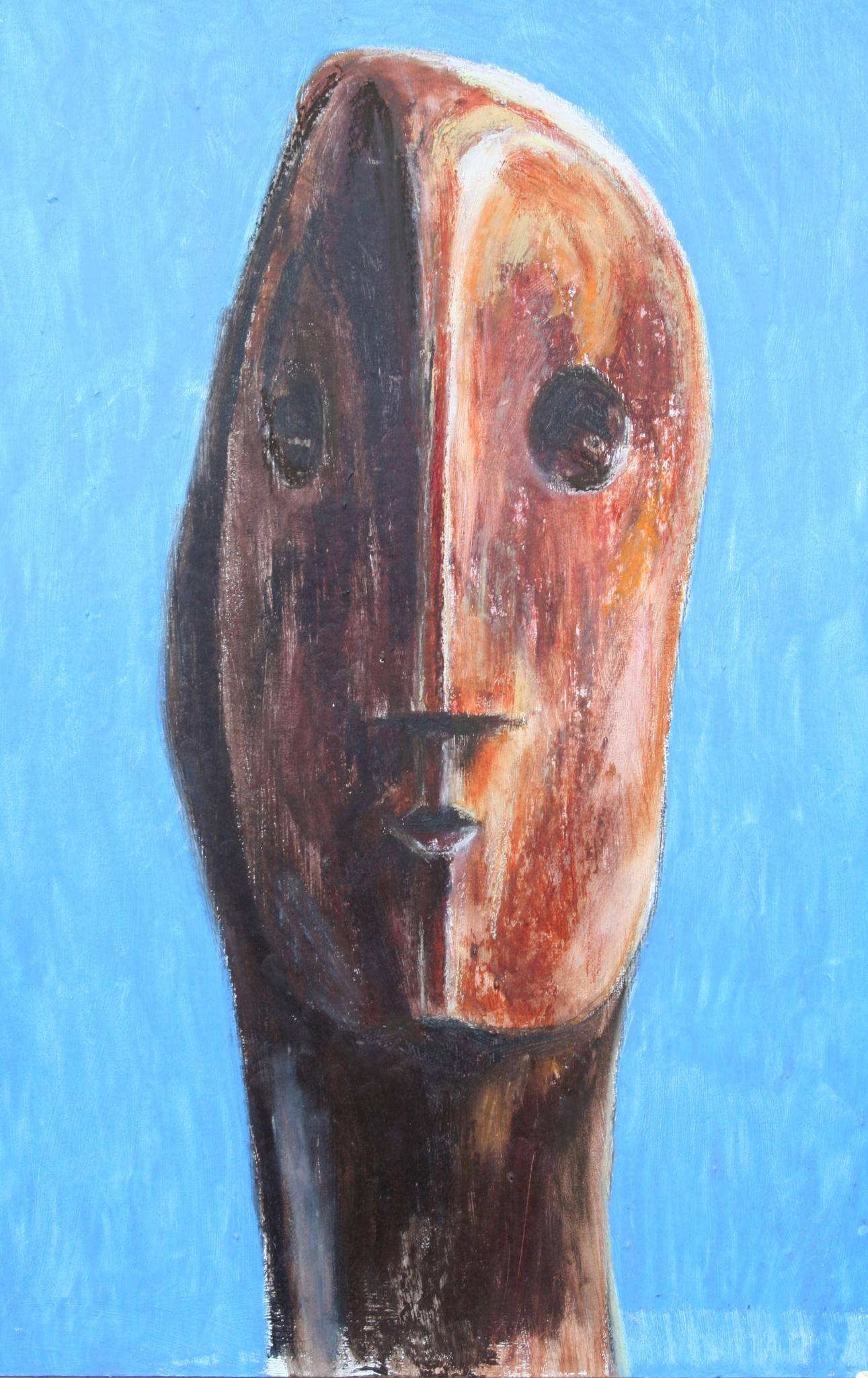 Image result for henry moore head