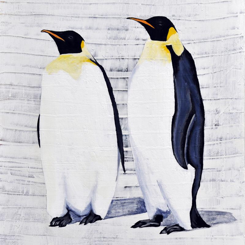 2 Emperor Penguins Print DegreeArtcom The Original Online Art Gallery