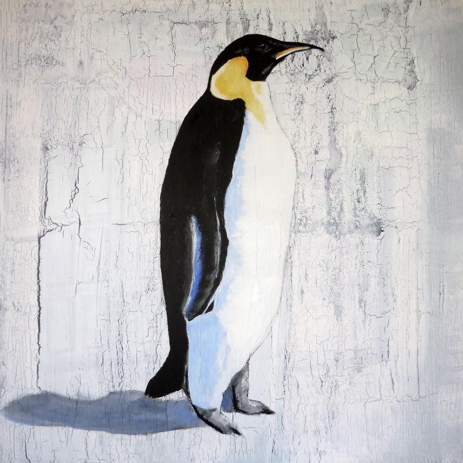 Single Emperor Penguin Print DegreeArtcom The Original Online Art